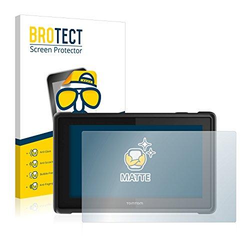 BROTECT Schutzfolie Matt für Tomtom Pro 8275 Truck [2er Pack] - Anti-Reflex