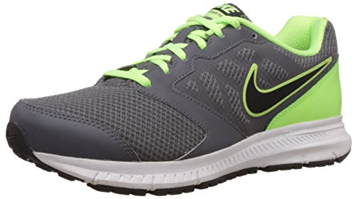 new concept d986d 6841d Nike 684658-016 Men S Downshifter 6 Msl Dark Grey And Black Ghost Green  White Ghost Green Mesh Running Shoes 11 Uk India 46 Eu 12 Us- Price in India