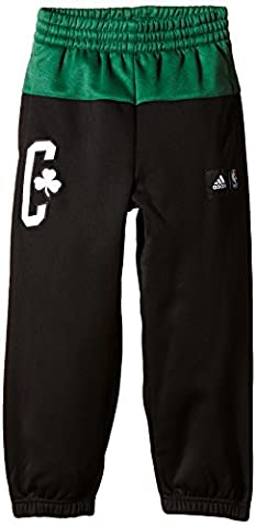 adidas Kinder Hose Basketball Boston Celtics, Schwarz/Grün, 164, AA7795