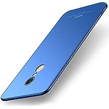 """Cover Xiaomi Redmi Note 5 / Redmi 5 Plus, MSVII® Ultra Sottile Custodia Cover Case e Pellicola Protettiva Per Xiaomi Redmi 5 Plus (5.99"""") - Blu JY00419"""
