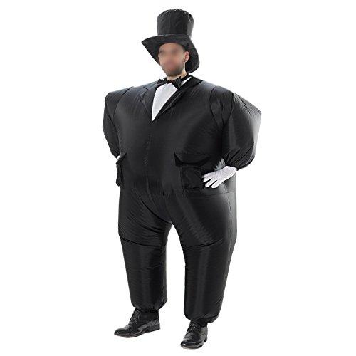 THEE Erwachsene aufblasbare Halloween Bräutigam (Kostüme Erwachsene Aufblasbare Für Schwarz)