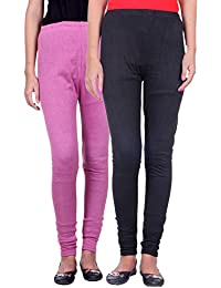Belmarsh Warm Leggings - Pack of 2 (Bpink_Black)
