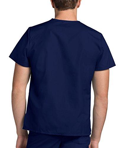 Medizinische Uniformen Unisex Top Krankenschwester Krankenhaus Berufskleidung 601 Color Nvy | Talla: M - 4