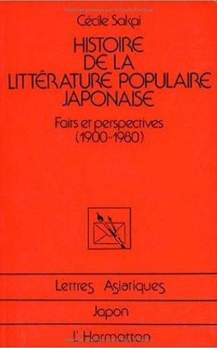 Histoire de la littérature populaire japonaise : ...