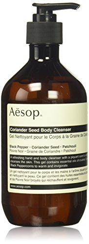 Aesop Coriander Seed Body Cleanser, 500 ml - Energizing Body Gel