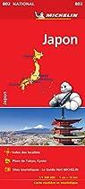 Carte Japon Michelin par Michelin