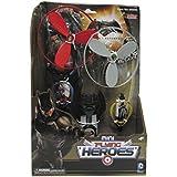 Bandai - Figura superhero volador, pack de 2 figuras
