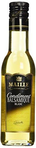 Maille Condiment Vinaigre Balsamique Blanc 25 cl - Lot de 3