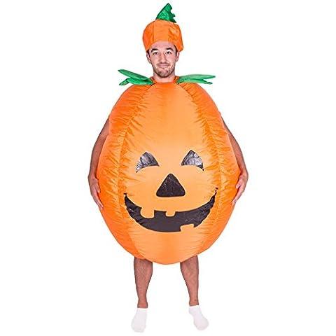 Aufblasbares Kürbis-Halloweenkostüm für Erwachsene (Halloween Aufblasbare Kostüme)