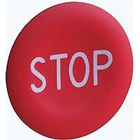 Schneider elec pic - mss 40 17 - Placa marcada para pulsador rojo -stop-blanco