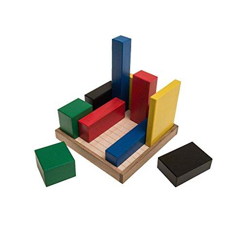 ROMBOL Bauhaus (Niek Neuwahl NFFX, Italien, 2006), Gesellschaftsspiel für 2 Personen, Familienspiel, Brettspiel, Gesellschaftsspiel aus Holz