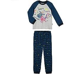 Pijama niño manga larga Dragons-Talla-10años (140cm)