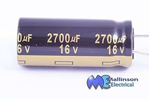 Condensateurs électrolytiques 2700uF 16v Radial