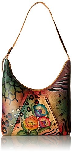 anuschka-womens-anna-handpainted-leather-u-top-tote-shoulder-handbag-animal-flower-one-size