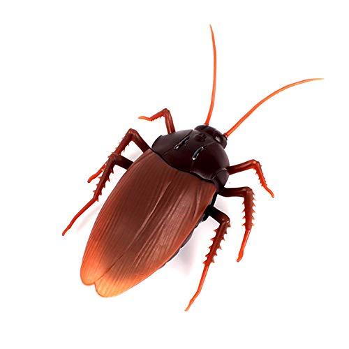 Qiulv Infrarot Fälschung Kakerlake Remote Steuerung Riese Simulation Elektronisch Insekten RC Unheimlich Streich Tricky Werkzeug Kinder Liebling Lustig Neuheit Geschenk