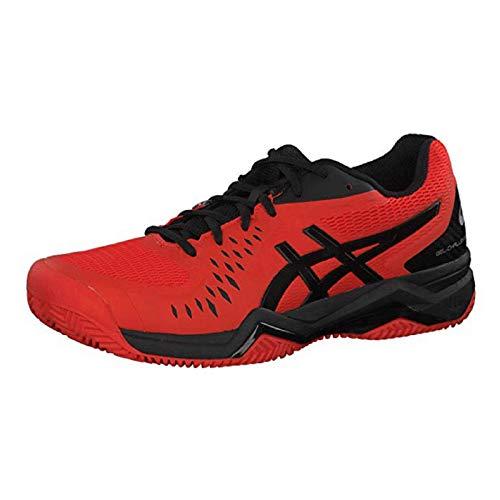 Asics Herren Gel-Challenger 12 Clay Tennisschuhe, Rot (Cherry Tomato/Black 813), 44 EU Rot 12