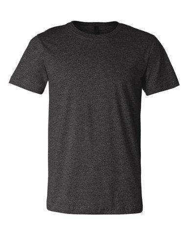 Jersey Crewneck T-Shirt - Farbe: Dark Grey Heather - Größe: XXL - Crewneck Heather Jersey T-shirt