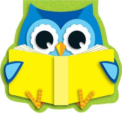 [( Reading Owl Notepad )] [by: Carson-Dellosa Publishing] [Jan-2013]