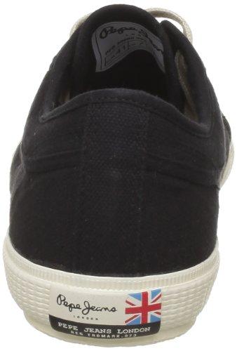 Pepe Jeans London BP-270 D, Sneaker uomo Noir (999 Black)