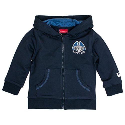 -Jungen Jacke B Jacket Käpt`n Kapuze, Blau (Crown 463), 68 (Blue Pirat Mantel)