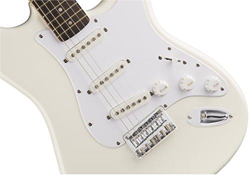 Squier - Chitarra Bullet Strat HT, colore bianco artico