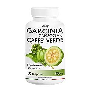 GARCINIA CAMBOGIA & CAFFE' VERDE / Line@Diet (60 compresse) 100% NATURALE ***BRUCIAGRASSI con DOPPIO RISULTATO!!! Stop a…