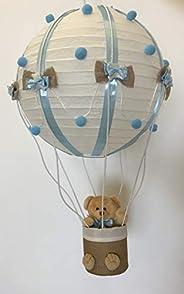 Lampadario mongolfiera cameretta bimbo bimba pezzabile