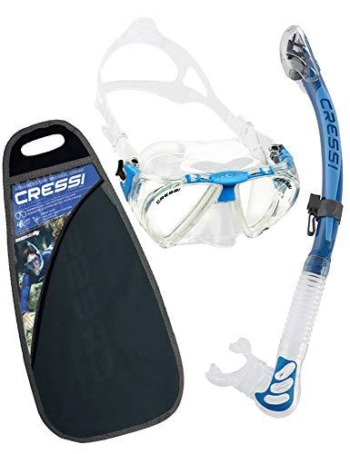 Cressi Unisex Penta & Alpha Ultra Dry - Premium Schnorchelset