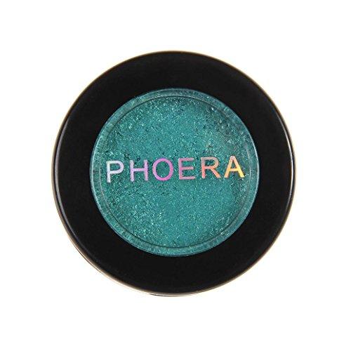 LONUPAZZ Shimmer Eyeshadow Glitter Fard à Paupières Pailleté Mono Métalliques Pour Ombre A Paupière Mat (S)