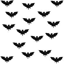 8 Fledermäuse aus Gummi Gummifledermaus Maus Dekoration Scherzartikel Deko