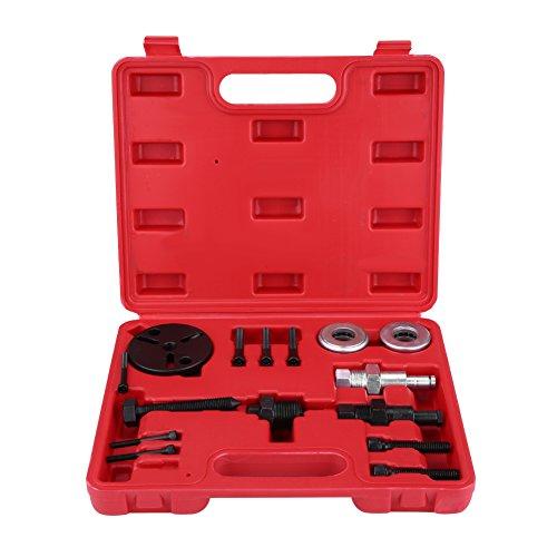 Cocoarm Klimaanlage Werkzeug, 15pcs Klimaanlage Werkzeug Kupplung Entferner Lockvogel Installer für KFZ mit Fall