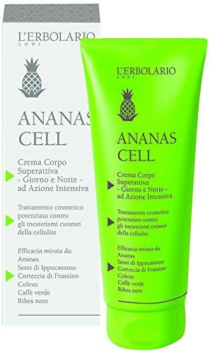 L'Erbolario Ananas Cell superaktive Körpercreme, 1er Pack (1 x 200 ml)