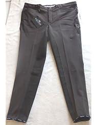 equiline Equitación para hombre, modelo benmark ribete, completo, color marrón, talla 58(E5)