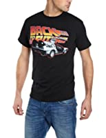Trademark Back to the Future B2TF Car Printed Mens T-Shirt