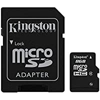 Kingston Technology 8 GB Class 4 Micro SDHC Card