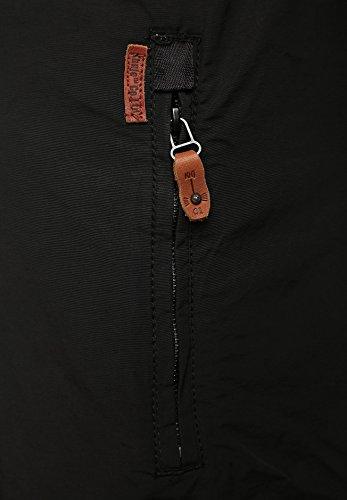 khujo Jacke Buket schwarz schwarz (200 BLACK)