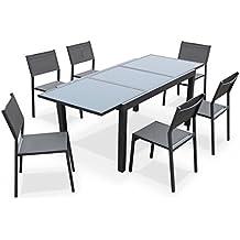 table de jardin extensible. Black Bedroom Furniture Sets. Home Design Ideas