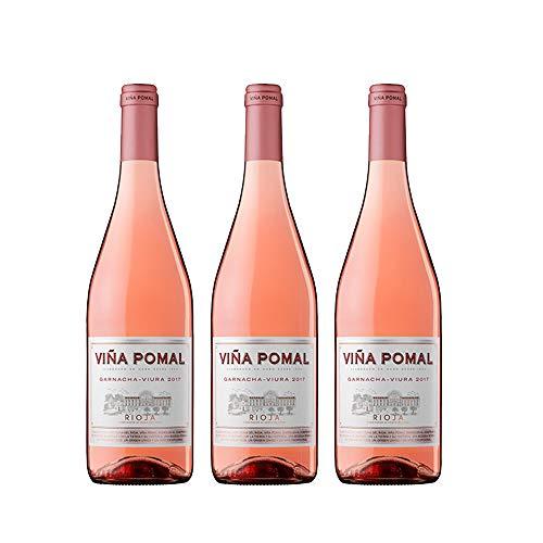 Viña Pomal | Vino Rosado 2017 Viña Pomal | D.O.Ca. Rioja | Caja De 3 Botellas De 75 Cl