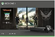 Microsoft Xbox One X 1TB Console - Tom Clancy's the Division 2 Bundle