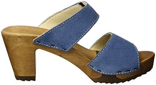 Woody - Silke, Zoccoli da donna Blu(Blau (Space))