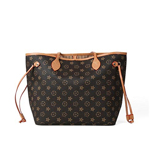 AXING Noah Birch Neverfull Style Damier Tote Hombro