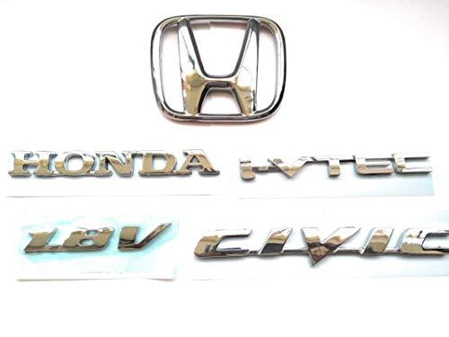 Export Quality GENERIC CAR Badge Emblem Monogram/Logo/Decals/Wraps/Sticker /3D for Honda Civic 1.8 V Rear Side Kit