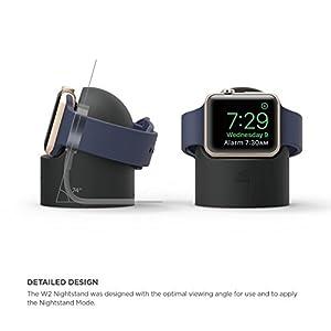 Elago Support W2: unterstützt kratzfreies Silikon für Das Kabelmanagement vom Bett aus – um den Apfel zu sehen Rot