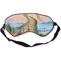 Eye Mask Eyeshade Painting Heaven Hell Sleeping Mask Blindfold Eyepatch Adjustable Head Strap preisvergleich bei billige-tabletten.eu