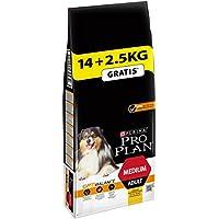 Pro Plan DogMedium Adult, Reich an Huhn, Trockenfutter Beutel