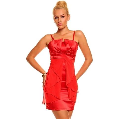 Celebrity stile rosso Bandeau Boob Tube matita vestito da sera da Cocktail Club Party gradazione Outfit Wedding sottile fascia Strap Outfit