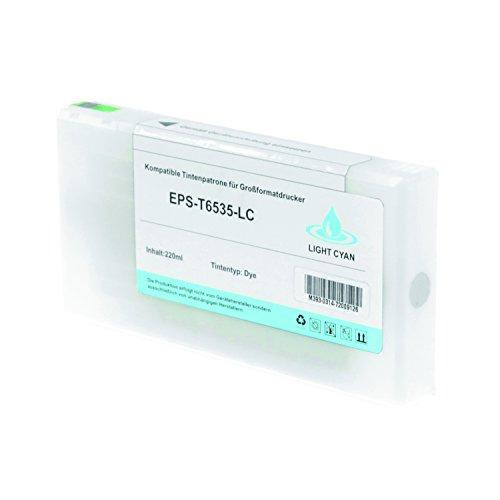 Preisvergleich Produktbild Tintenpatrone für Epson T6535 C13T653500 Stylus Pro 4900 Spectro UV Designer Edition Series - Light Cyan 200ml