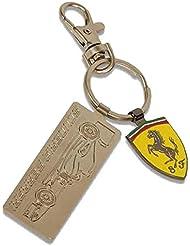 Ferrari Llavero Metal F1