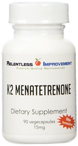 Vitamin K2 Menatetrenone Mk-4 by Relentless Improvement