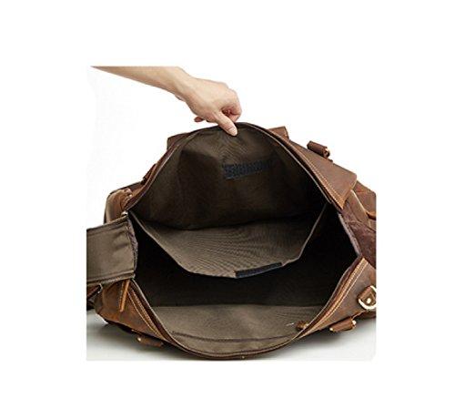 LAIDAYE Art Und Weise Retro- Schultermannbeutel Personifizierte Tendenzhandtasche Kurierbeutel-Spielraumbeutel-Eignungbeutel 1